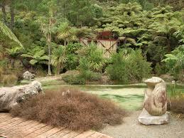 native plantings about the gardens te puna quarry park