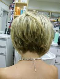 short stacked haircuts for fine hair that show front and back stacked bob fine hair inverted stacked bob hair cut pinterest