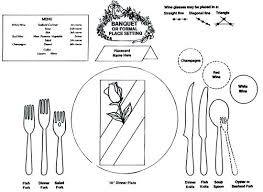 place setting template banquet table settings photos wedding reception table setting