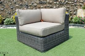 marseille wicker sunbrella l shaped sectional sofa cieux