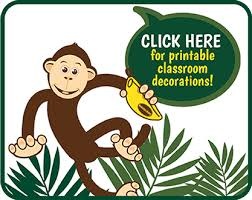 Monkey Classroom Decorations How To Take Part Bananagrams Challenge Us