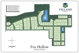 site plan truland homes
