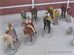 imagenes de los reyes magos y sus animales belén antiguo reyes magos a caballo los pajes comprar esculturas