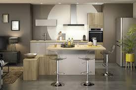 so cooc cuisine une cuisine avec îlot coin repas aux couleurs exotiques modèle