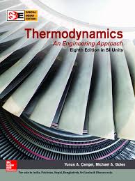 thermodynamics an engineering approach cengel boles