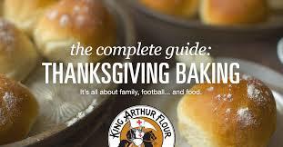 thanksgiving guide king arthur flour