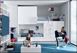 Modern Teenage Bedroom Ideas - cool loft bed for teenage boys room idea teenage bedroom design