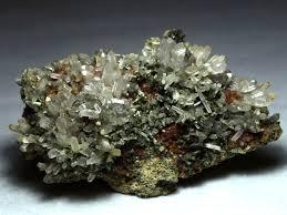garnet epidote and quartz china neolithic mineral