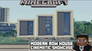 minecraft xbox 360 modern row house 2 showcase youtube