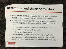 Gender Neutral Bathrooms In Schools - new bathroom policy at cms wcnc com