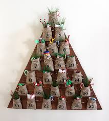 white diy tree advent calendar feature by rogue engineer