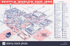 architectural site plan architectural site plan of the 1962 seattle world s fair in a