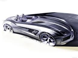 mclaren drawing mercedes benz slr stirling moss 2009 pictures information u0026 specs