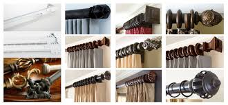 Double Curtain Rod For Bay Window Very Attractive Design Custom Curtain Rods 5 Custom Curtain Rod