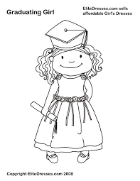 graduation coloring pages getcoloringpages