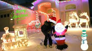 putting up the christmas tree snow u0026 christmas decorations
