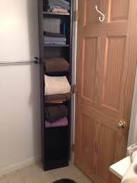 bathroom tall free standing bathroom towel storage ideas