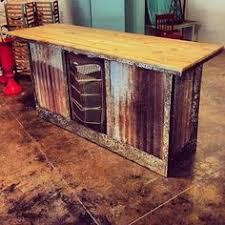 Rustic Bar Table Rustic Spool Bar Table Charming Imperfections Dining Room