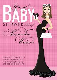 Invitations Cards For Baby Shower Pink Baby Shower Invitations Kawaiitheo Com