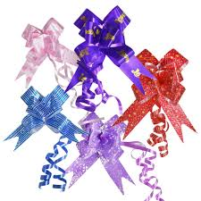 pull ribbon pull flower ribbon l 38 w 2 5 5 ribbon per pack asianhobbycrafts