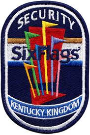 Six Flags Products Six Flags Security Embroidered Patch