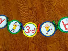 chuggington personalized happy 2nd birthday caringdesigns