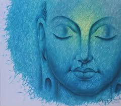 Divine Light Prince Chand Painting Divine Light Buddha 42x48 Buy Hand