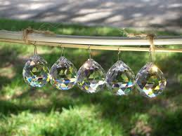 Crystal Chandelier Ball 17 Best Crystal Ball Suncatchers Images On Pinterest Crystal