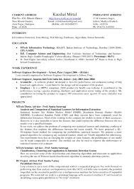 Best It Resume Format Resume Templates Latex 15 Latex Resume Templates Free Samples