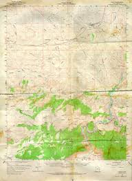 Green River Utah Map by Far Country Resources