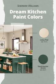 is green a kitchen color earthy kitchen paint color combinations sherwin williams