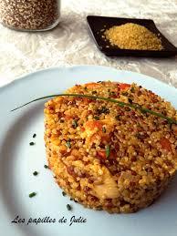 cuisiner le boulgour risotto quinoa gourmand au poulet les papilles de julie