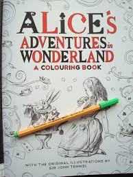 alice u0027s adventures in wonderland 4 colouring in the midst of