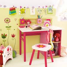 deco bureau enfant organisation décoration bureau fille