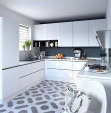 cuisine carré sol cuisine quel revêtement choisir cuisine blanche le