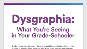 1st grade writing paper with picture box signs of dysgraphia and trouble writing in grade schoolers signs of dysgraphia and trouble writing in grade schoolers infographic
