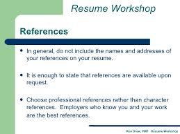not to include in resume rdrew resume workshop