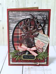 a dashing deer card in my own imagination