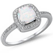 wedding rings opal images Opal wedding rings jpg