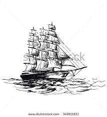 sailboat drawing stock images royalty free images u0026 vectors