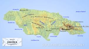 Free World Maps by Where Is Jamaica Located On The World Map
