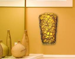 Battery Wall Sconce Lighting Solar Exterior Battery Powered Wall Sconce U2014 All About Home Design