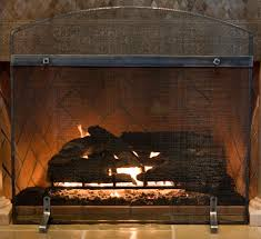 freestanding fireplace screens ironhaus