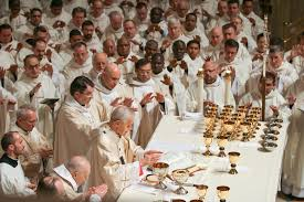 the institution of the eucharist at the last supper seek first