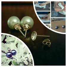 make your own earrings studs do you already matched pearls from disney hawaii vegas etc