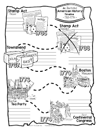 American Flag Doodle American History Lessons For Grades 4 6 Complete Interactive