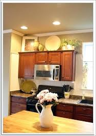 above kitchen cabinet decorating ideas top of cabinet decor above cabinet decor size of decor top of