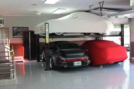 Building A 2 Car Garage by Guys With 4 Post Car Lifts In Their Garages I Have Questions