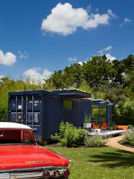 shipping crate house with rooftop garden modern home designer