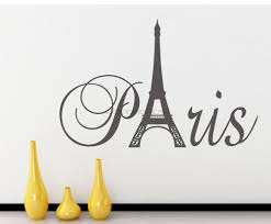 wallpaper glue picture more detailed about new diy new diy paris art eiffel tower wall sticker mural home decor bedroom living room